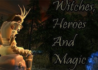Обложка для игры Witches, Heroes and Magic