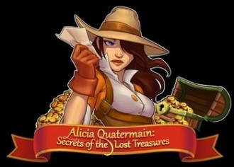 Обложка для игры Alicia Quatermain: Secrets Of The Lost Treasures