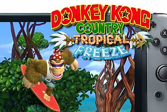 Обложка игры Donkey Kong Country: Tropical Freeze (Switch)