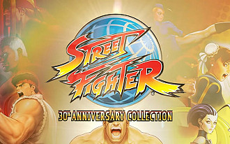 Обложка к игре Street Fighter: 30th Anniversary Collection