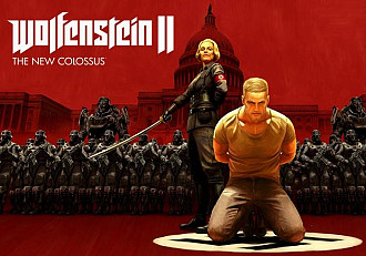 Обложка к игре Wolfenstein II: The New Colossus (Nintendo Switch)