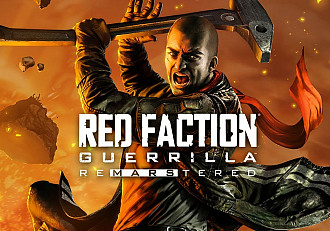 Обложка к игре Red Faction: Guerrilla Re-Mars-tered