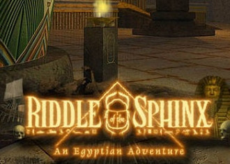 Обложка для игры Riddle of the Sphinx: An Egyptian Adventure