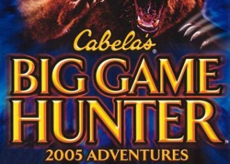 Обложка для игры Cabela's Big Game Hunter 2005 Adventures