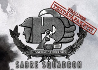 Обложка к игре Hidden and Dangerous 2: Sabre Squadron