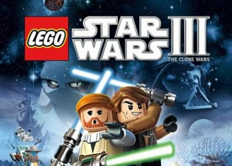 Обложка игры LEGO Star Wars 3: The Clone Wars