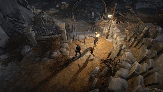 Скриншот из игры Brothers: A Tale of Two Sons