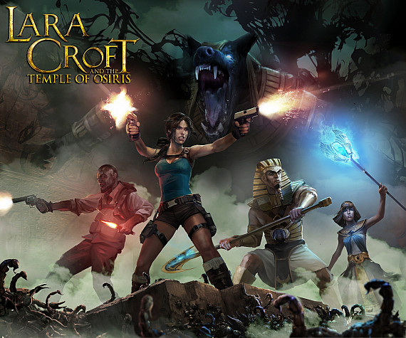 Скриншот из игры Lara Croft and the Temple of Osiris
