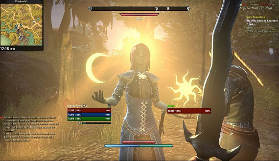 Скриншот из игры Elder Scrolls Online: Morrowind, The