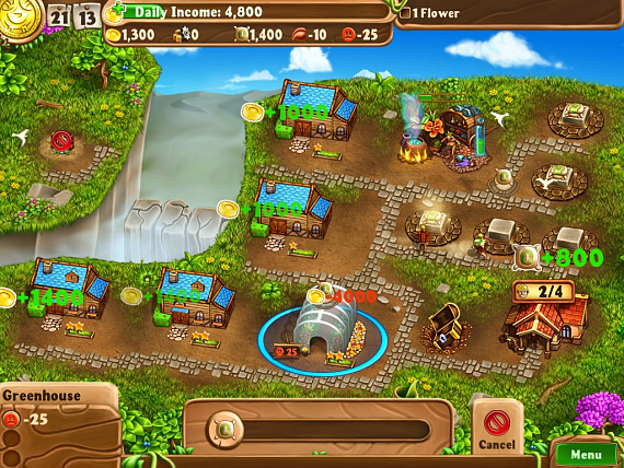 Скриншот из игры Campgrounds: The Endorus Expedition Collector's Edition