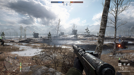 Скриншот из игры Battlefield 1: In the Name of the Tsar