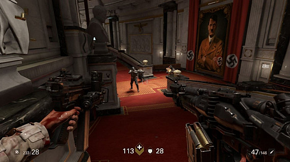 Скриншот из игры Wolfenstein II: The New Colossus (Nintendo Switch)