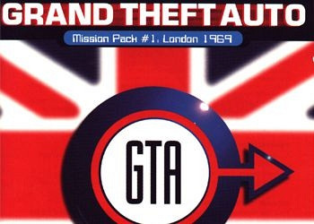 Обложка к игре Grand Theft Auto Mission Pack: London 1969