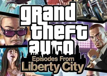 Обложка к игре Grand Theft Auto 4: Episodes From Liberty City