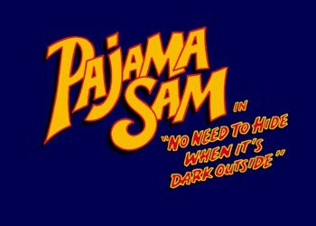Обложка игры Pajama Sam in «No Need to Hide When It's Dark Outside»
