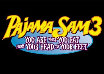 Обложка игры Pajama Sam 3: You Are What You Eat from Your Head to Your Feet