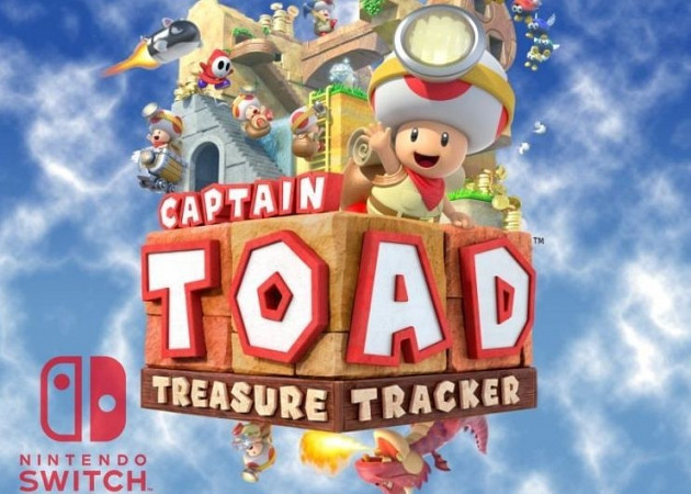 Обложка к игре Captain Toad: Treasure Tracker (Nintendo Switch)