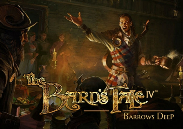 Обложка к игре Bard's Tale 4: Barrows Deep, The
