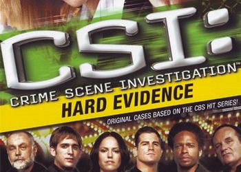 Обложка к игре CSI: Crime Scene Investigation - Hard Evidence